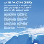 A Call to Action on HFCs