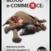 Blood e-Commerce: Rakuten's profits from the slaughter of elephants and whales