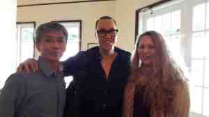 Dr Melvin Gumal, Gok Wan and Debbie (c) Dr Melvin Gumal