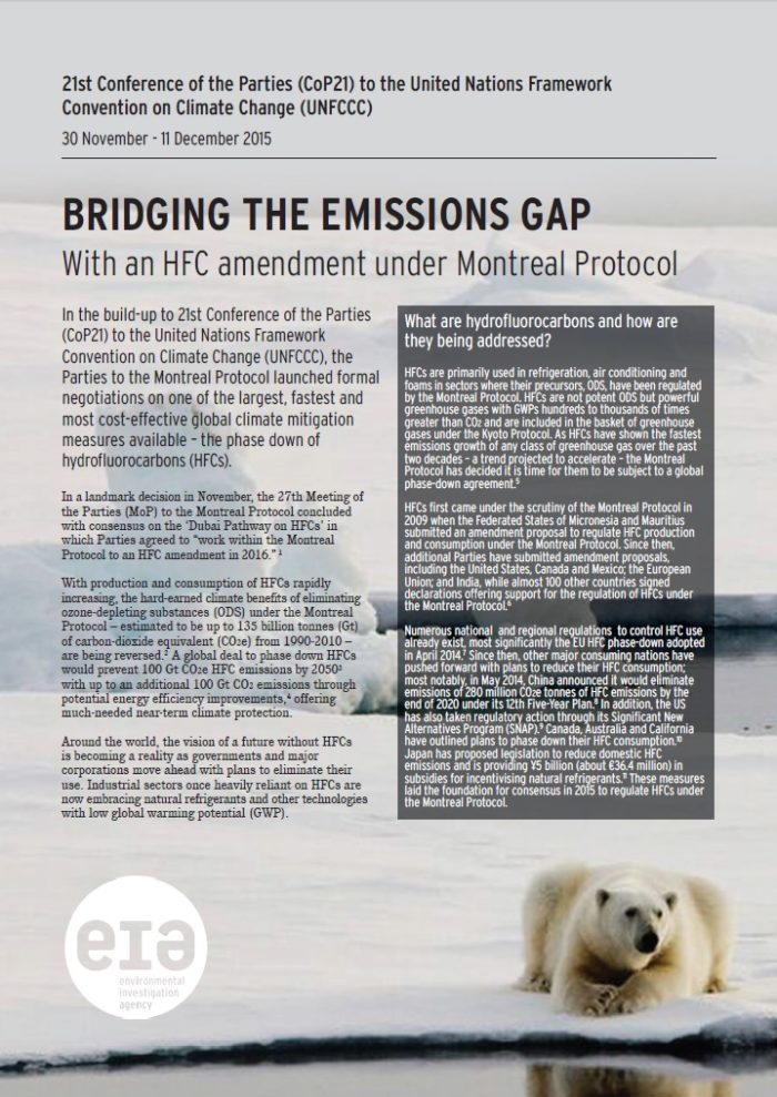 Bridging the emissions gap cover