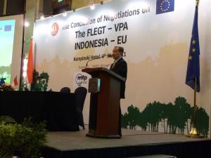 Conclusion of FLEGT VPA between Indonesia & EU