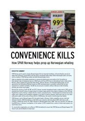 Convenience Kills