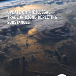 Front cover of our Briefing Document for the 38th Meeting of the Open-Ended Working Group of the Parties to the Montreal Protocol