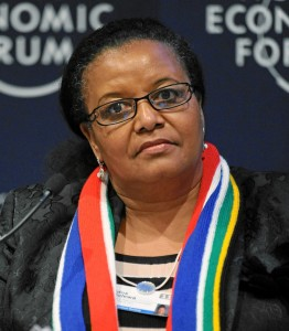 Edna Molewa, via World Economic Forum
