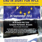 EIA Euro Parliament event: End in Sight for HFCs