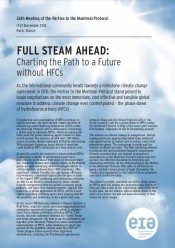 Full Steam Ahead: Charting the Path to a Future without HFCs