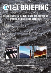 Global Chemical Pollution and the Hunting of Whales, Dolphins and Porpoises