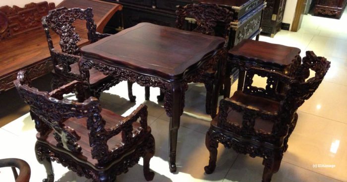 Hongmu furniture, China