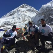 Iain and sons scale the heights of fundraising!