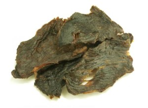 Whale jerky, on sale in Japan until EIA's alert spurred the manufacturer to cease production