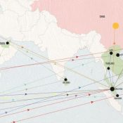 The tangled routes of global elephant ivory trafficking
