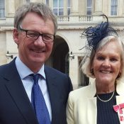EIA co-founder visits the Palace to receive her OBE