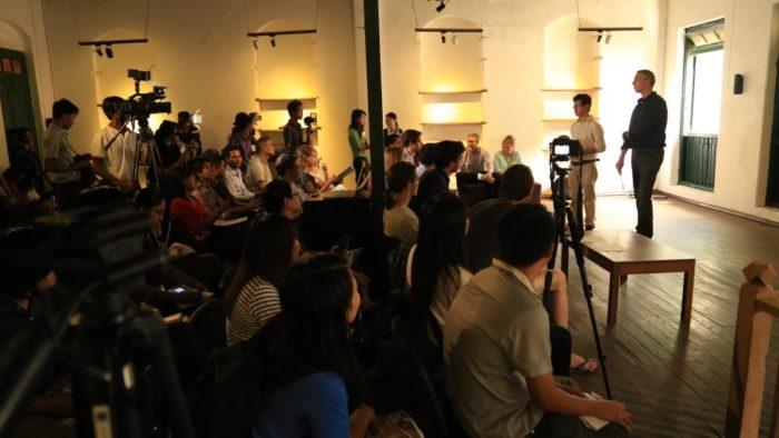 Organised Chaos launch in Myanmar