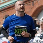 Justin's marathon effort for elephants and for EIA