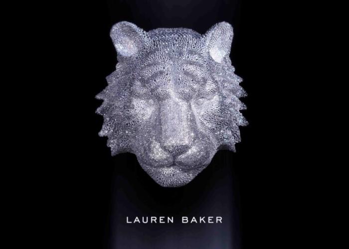 Lauren Baker tiger head