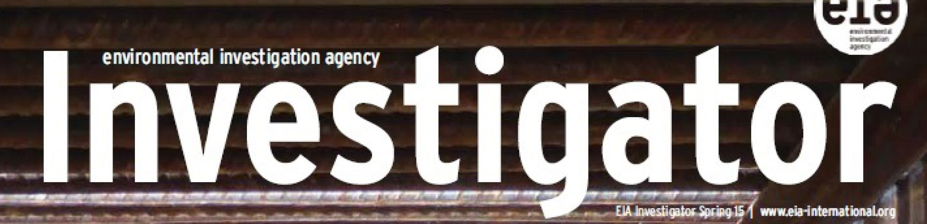 Masthead for the Spring 2015 Investigator Magazine