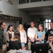 Michigan State University students visit EIA