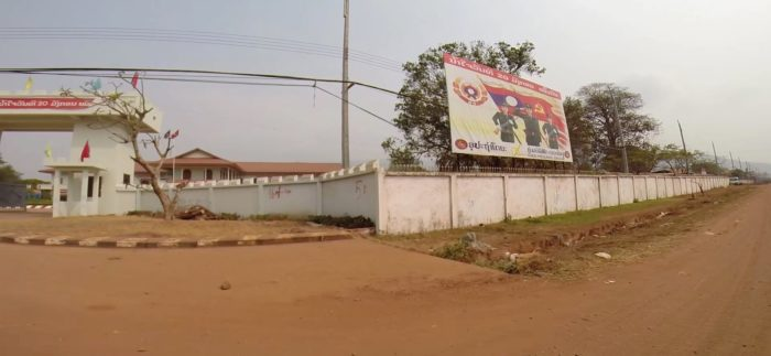 Military compound at Pakse, Laos (c) EIA