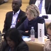 EIA's Natasha addresses the Bonn climate conference
