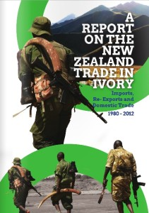 New Zealand ivory trade report cover