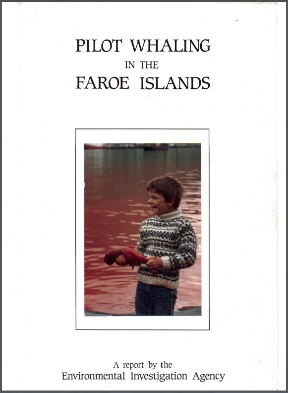 Pilot whaling in the Faroe Islands report cover
