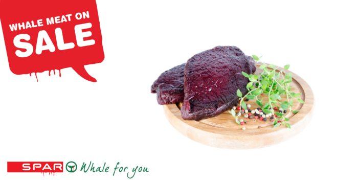 SPAR Fake ad - whale dish