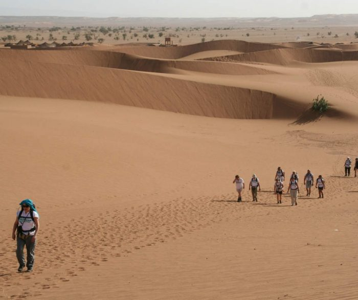 Sahara mini adventure, Morocco. Credit: Discover Adventure