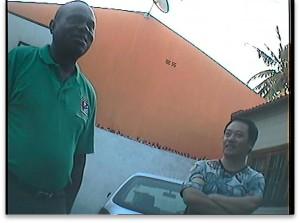 Thomas Mandlate, recorded on hidden camera by undercover EIA investigators (c) EIA
