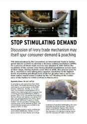 Stop Stimulating Demand
