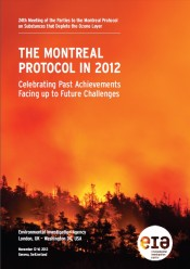 The Montreal Protocol in 2012