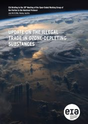 Update on the Illegal Trade in Ozone-Depleting Substances