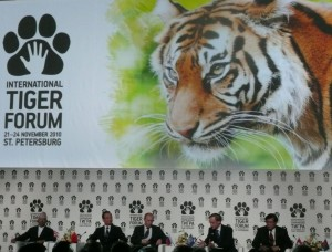 World Leaders at the International Tiger Forum