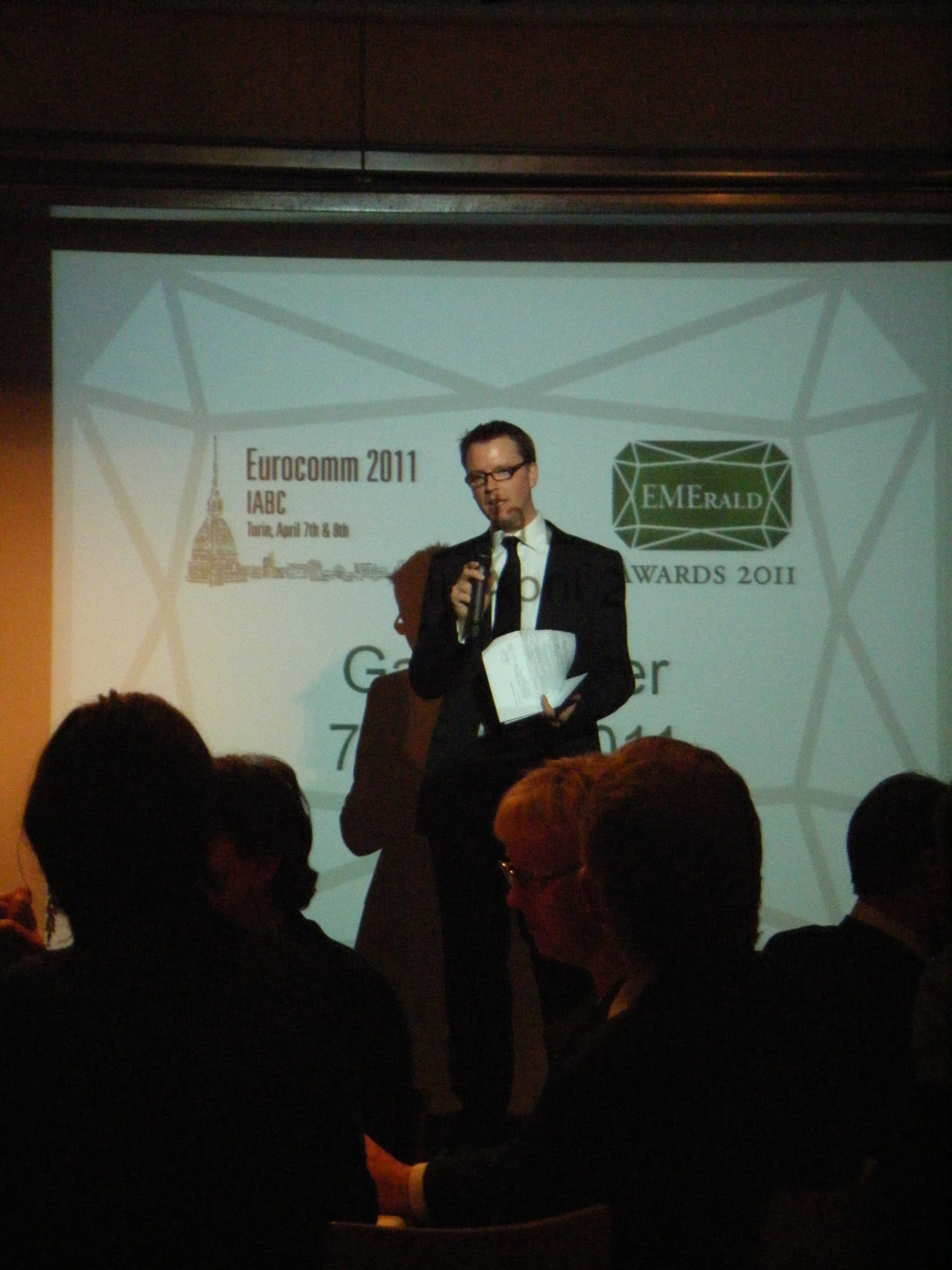 Michael Ambjorn at Eurocomm