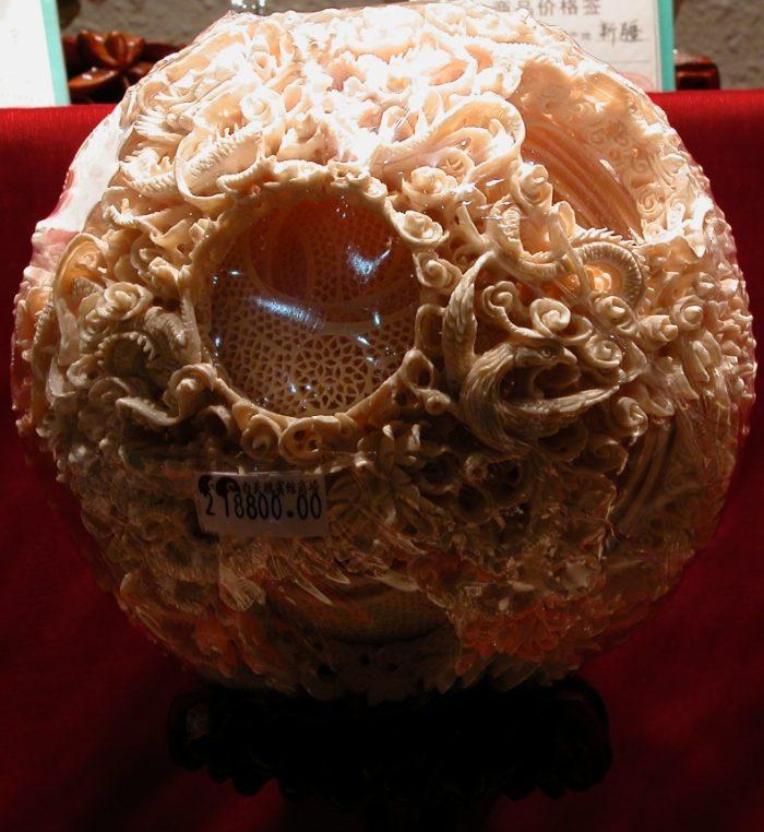 An Ivory sculpture