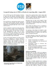 Leopards losing out at CITES as Parties let reporting slide