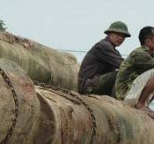 Behind the scenes at yesterday's widely covered launch on illegal logging in the Mekong