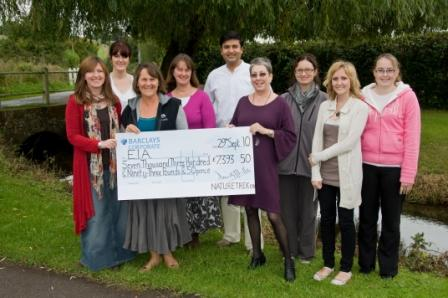 Naturetrek donated over £7000 to EIA this year