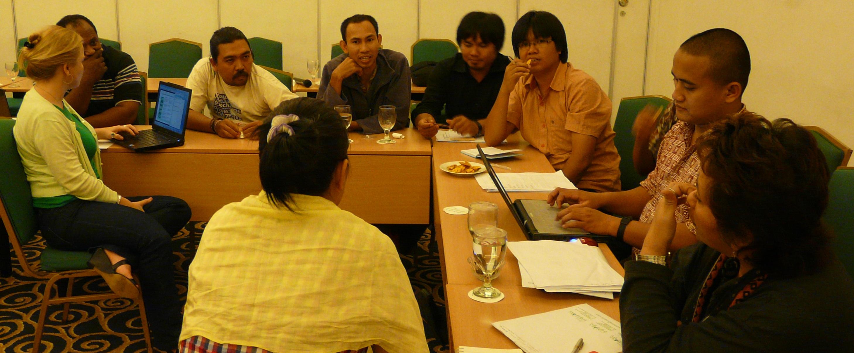 Meeting in Jakarta just last week