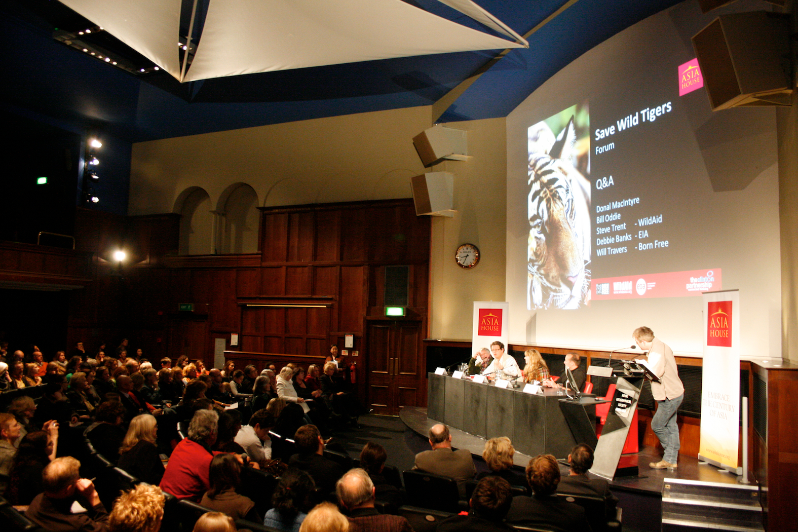 Save the Wild Tiger Forum - Dec 2010. Credit EIA