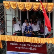 Suu Kyi's call for business to aid in the reform of Burma