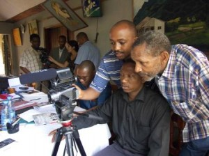 An EIA training session in Tanzania to help share our skills with local activists (c) EIA